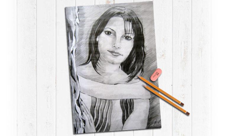 Портреты карандашом заказать