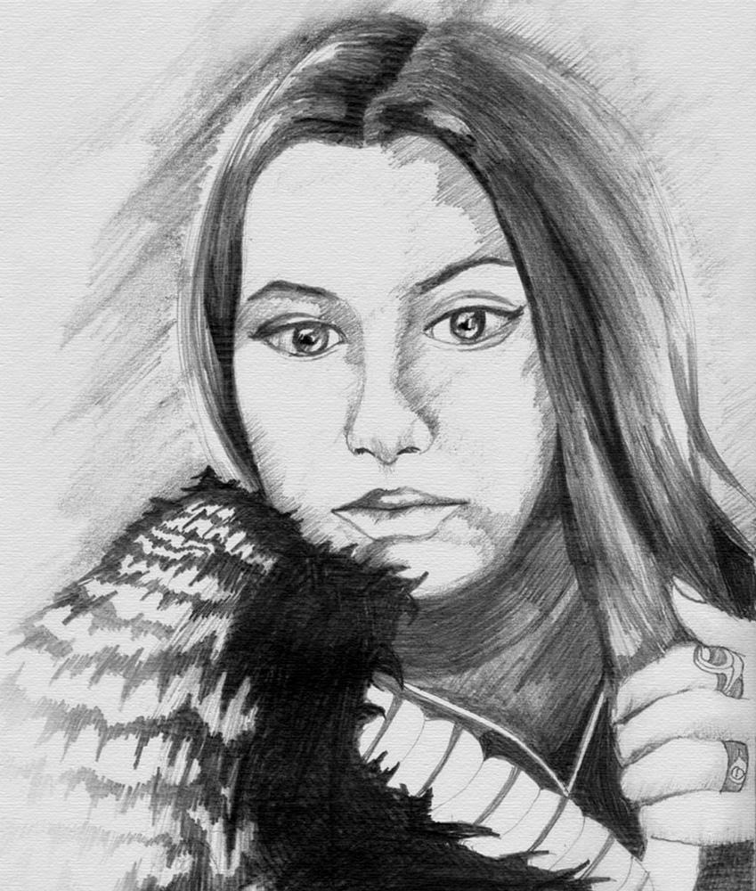 Девушка, портрет на заказ