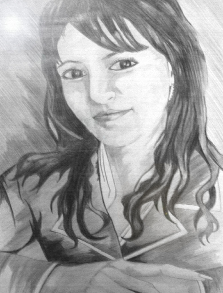 Пример рисунка карандашом