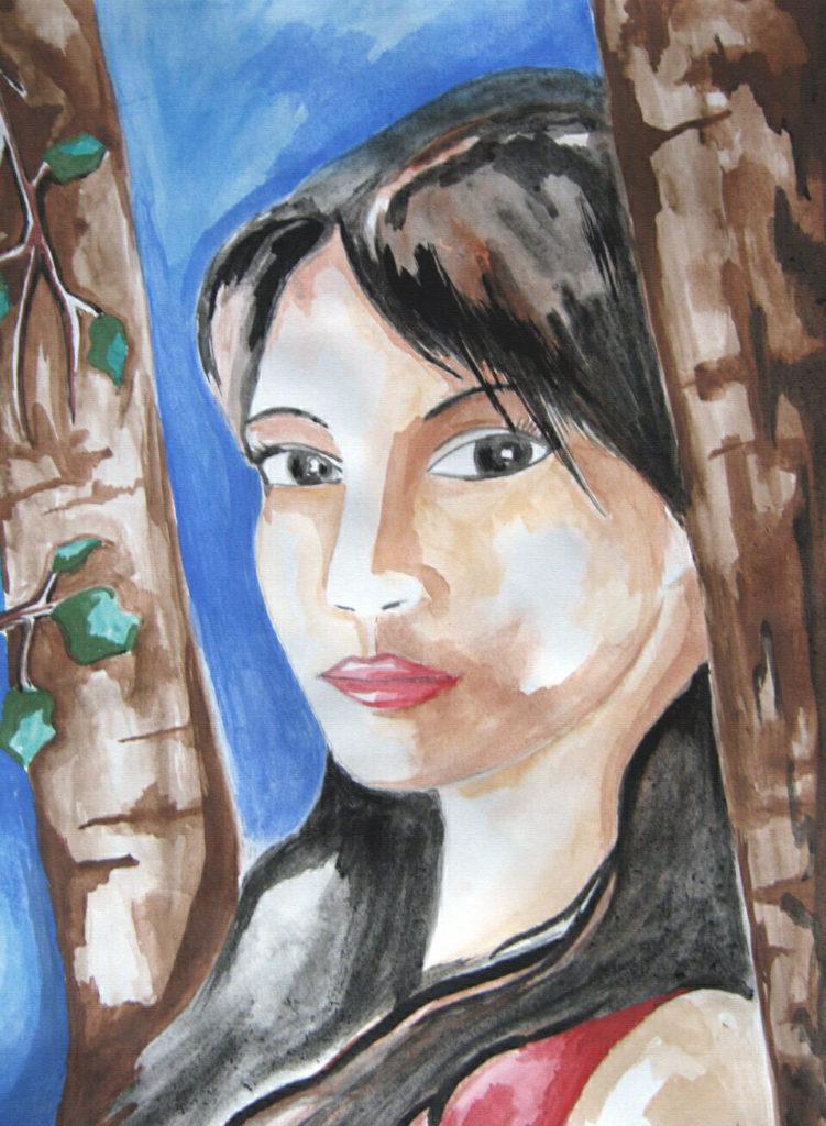 Заказать портрет акварельными красками