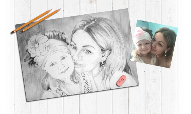 Карандашом портреты в Воронеже